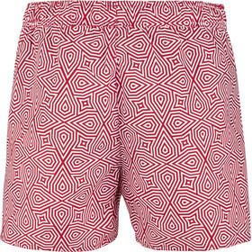 "speedo Vintage Printed 14"" Watershorts Heren, red/white"
